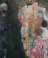 Gustav Klimt, Morte e vita, 1910/1911,olio su tela ,180x200 cm,Leopold Museum, Vienna