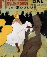 Posters e manifesti Moulin Rouge Toulouse Lautrec