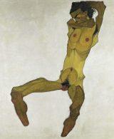 Egon Schiele nudo maschile