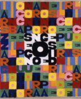 Alighiero Boetti, Senza titolo (Segno e disegno), 1978, ricamo su tela,cm 68 x 68