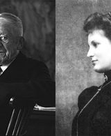 Oskar Kokoschka and Alma Mahler