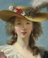 Le donne nell'arte. Élisabeth Vigée Le Brun, Autoritratto (particolare)