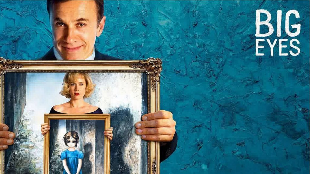 Locandina del film Big Eyes di Tim Burton