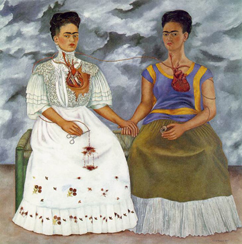 Le due Frida di Frida Kahlo