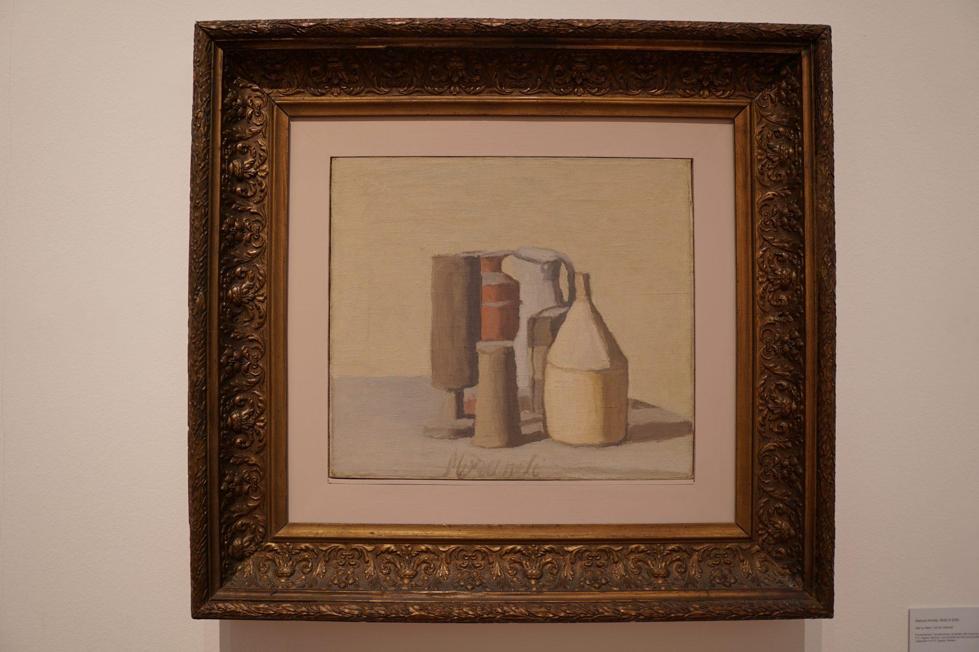 Cosa vedere a Bologna Arte e musei - Giorgio Morandi, Natura morta, 1948