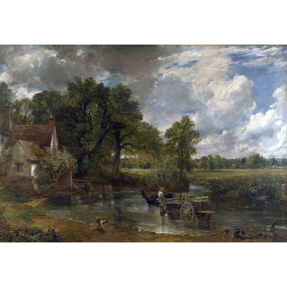 Carro de heno de Constable