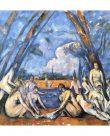 Los grandes bañistas de Cézanne